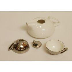 Service à thé argent