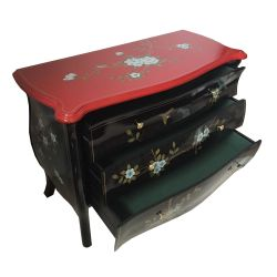 Commode chinoise bicolor