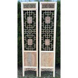 Portes vietnamiennes sculptées de Phu coc