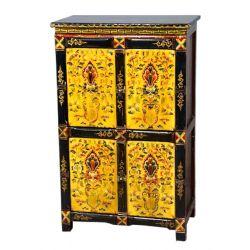 Meuble tibétain 4 portes