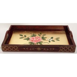 Trays, lacquered vietnamese small model