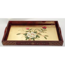Trays, lacquered vietnamese medium model