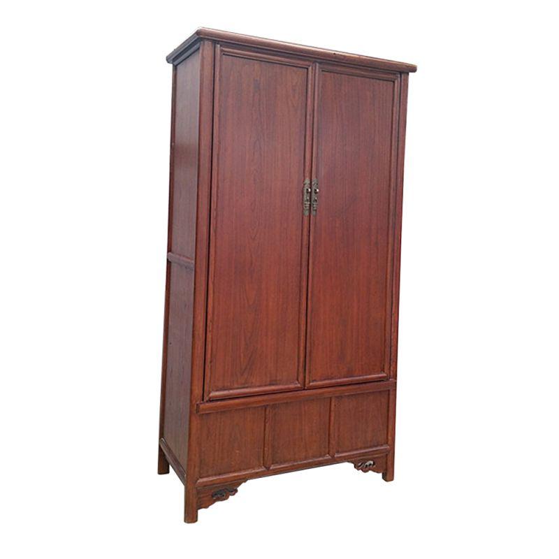Grande armoire chinoise en orme meubles for Grande armoire noire