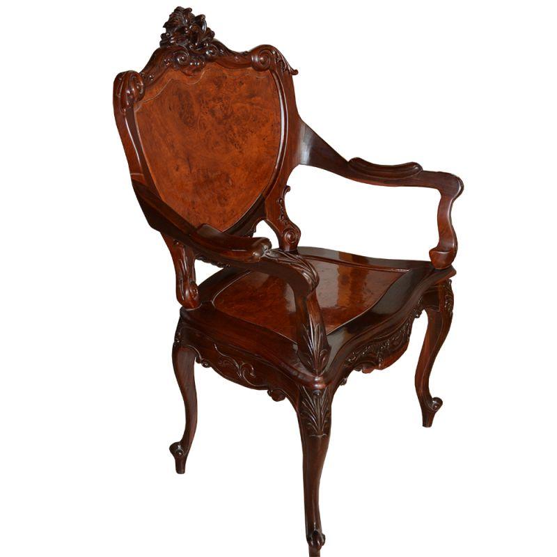 fauteuil vietnamien sculpt meubles. Black Bedroom Furniture Sets. Home Design Ideas