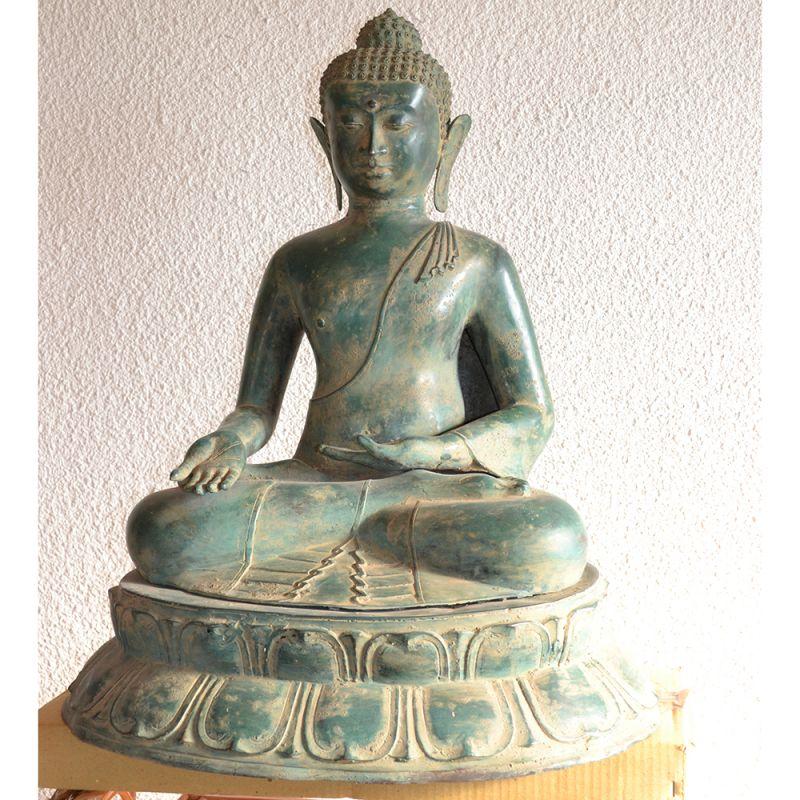 statue bouddha vietnamien antique assis meubles. Black Bedroom Furniture Sets. Home Design Ideas
