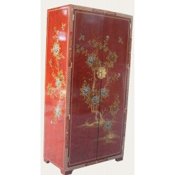 Cabinet chinese lacquered wardrobe
