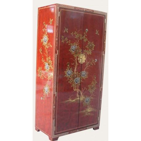 Armoire chinoise laquée penderie - Meubles labaiedhalong.com