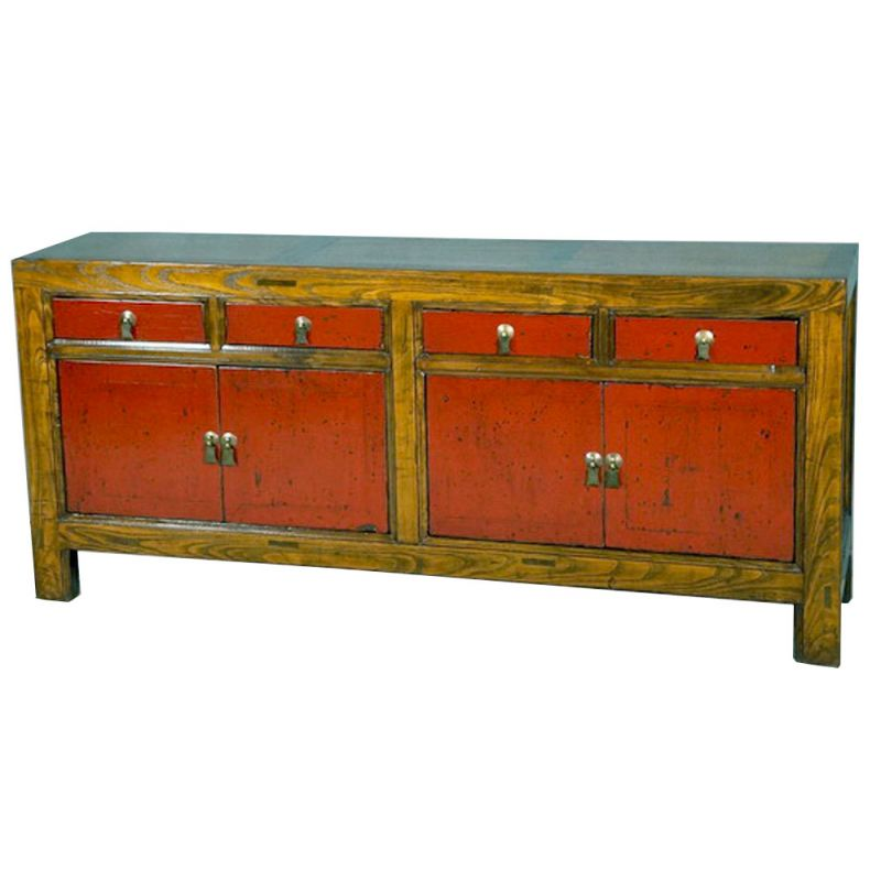 Buffet chinois bicolor meubles for Buffet chinois meuble