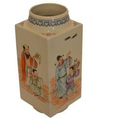 Vase China porcelain semi antique