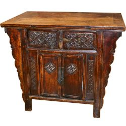 Buffet table old