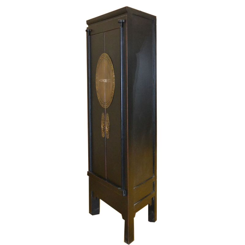 armoire d 39 angle chinoise en orme meubles. Black Bedroom Furniture Sets. Home Design Ideas
