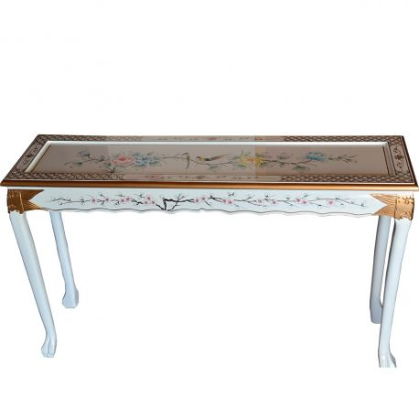 Console lacquered chinese