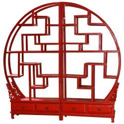 Etagère chinoise destructurée avec sculptures