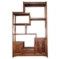Bibliothèque chinoise antique