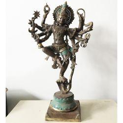 Buddha Statue, Shiva bronze