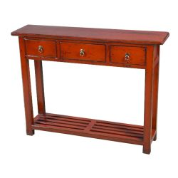 Console chinese 3 drawers