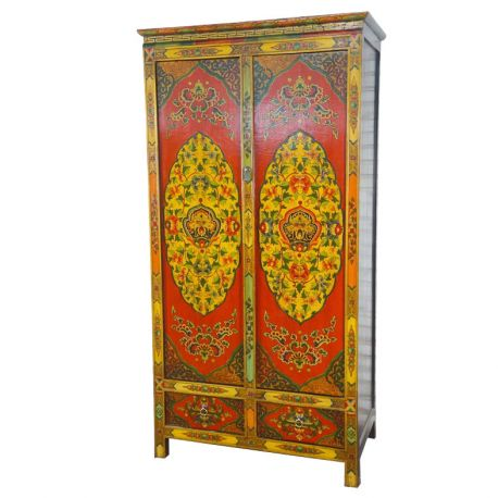 Armoire tibétaine dragon