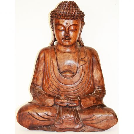 Buddha Statue in the prayer INWARD MAY 2017