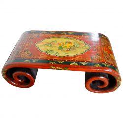 Table à rouleau tibétaine jeux d'enfants