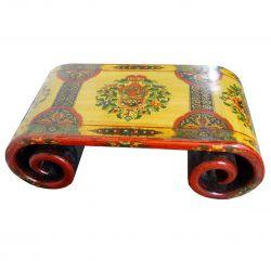 Table à rouleau tibétaine