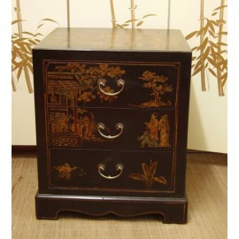 Bedside chinese 3 drawers
