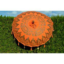 Parasol balinais orange