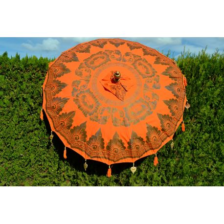 Parasol balinais orange