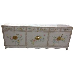 Chinese Buffet red with inlays