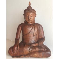 Wooden Buddha Statue from suar INWARD MAY 2017