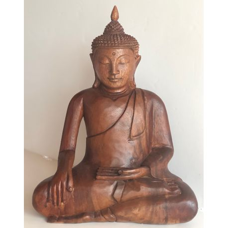 Wooden Buddha Statue from suar INWARD MAY 2017