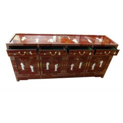 Chinese Buffet with black lacquer