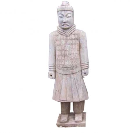 Chinese Statue stone warrior Qin