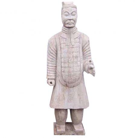 Chinese Statue stone warrior Qin