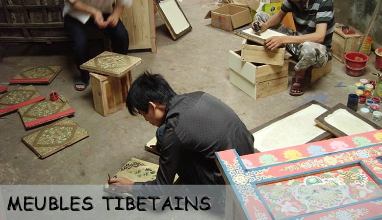 meubles tibétains